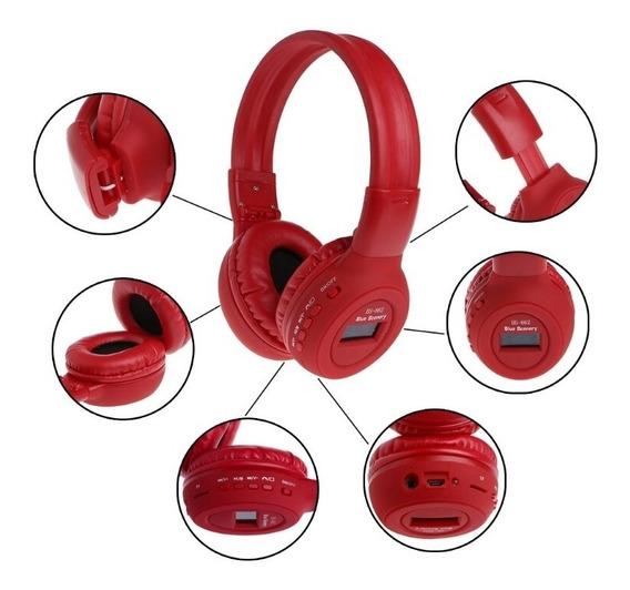 Audifonos Inalambricos Stereo Bluetooth Mp3 Radio Fm Sd