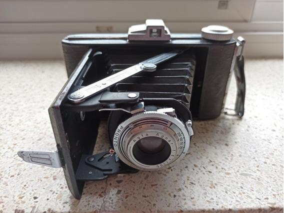 Câmera Fotográfica Agfa Billy I Antiga Rara + Caixa Original