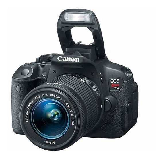 Câmera Canon T5i Usada Perfeita Pronta Entrega + Duas Lentes