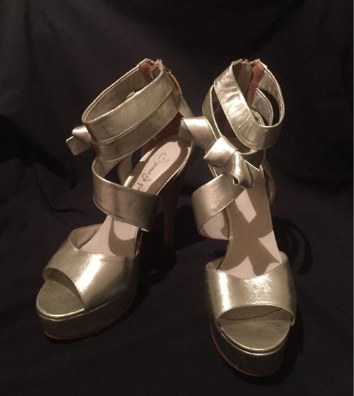 Zapatos Saverio Di Ricci Color Platino