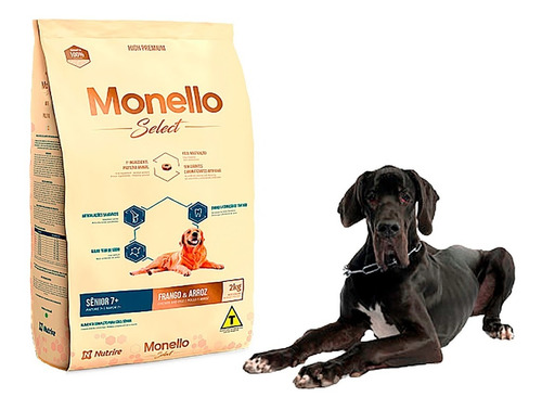 Monello Select Senior 7+ 15kg - kg a $10667