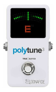 Pedal De Guitarra Afinador Tc Electronic Polytune 3