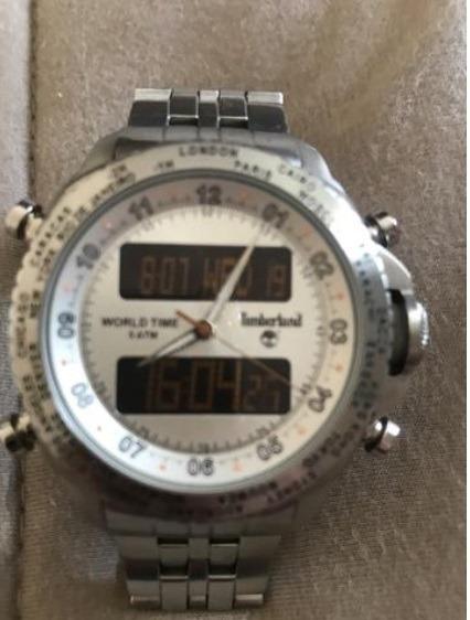 Relógio Timberland World Time