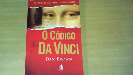 Livro O Código Da Vinci - Autor Dan Brown