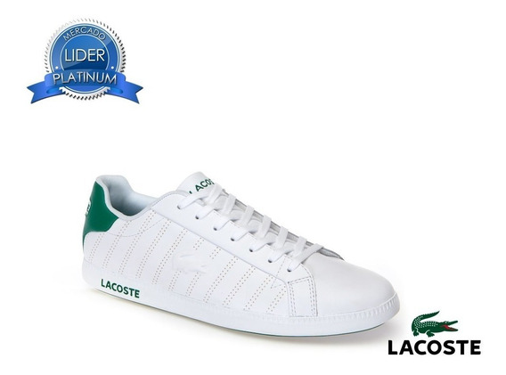 Zapatillas Lacoste Graduate 318 Blanco 082 Negro 231