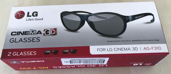 Óculos 3d Tv LG Ag-f310 Cinema 3d (cx C/2un)