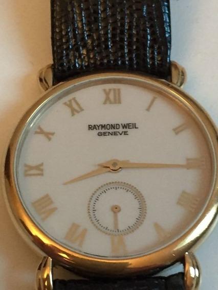 Relógio Raymond Weil 9823 18k Gold Electropated