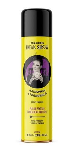 Imagem 1 de 4 de Fixador De Cabelo Hairspray Don Alcides Freak Show