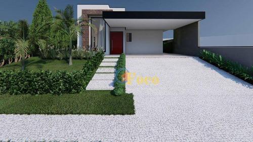 Imagem 1 de 14 de Casa Com 3 Dormitórios À Venda, 182 M² Por R$ 1.115.000,00 - Condomínio Ville De France - Itatiba/sp - Ca1051