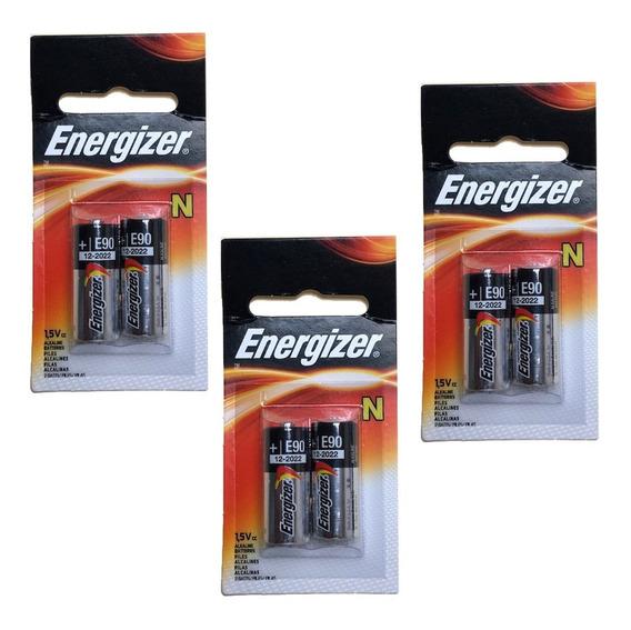 Bateria N/lr1/e90 03 Cartelas C/02 Unids 1,5 Volts Energizer