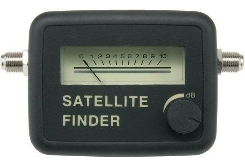 Localizador De Satélite Analógico Digital Finder Parabolica