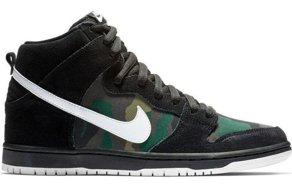 Zapatillas Nike Botitas Sb Dunk High Pro 001 Black- Iguana