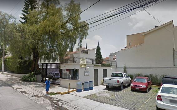 Casa De Remate Bancario En Col Tlalcoligia Tlalpan