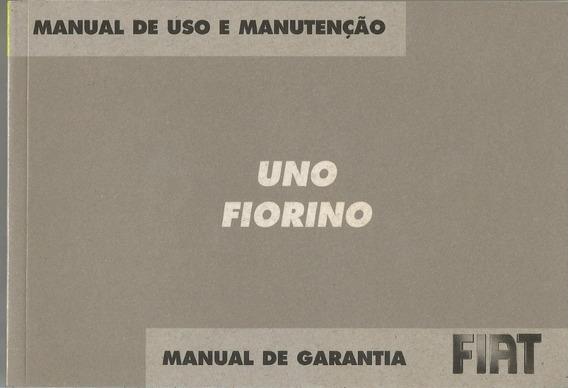 Manual Proprietário Uno Ou Fiorino 2007 C/suplementos