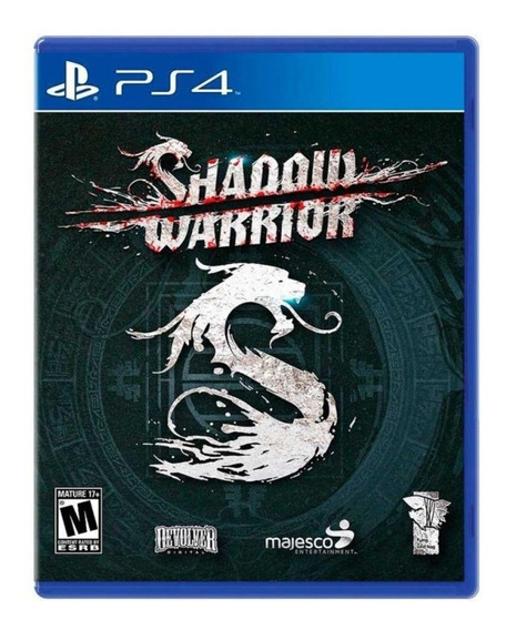 Shadow Warrior Ps4 Playstation 4 Mídia Física Novo Lacrado