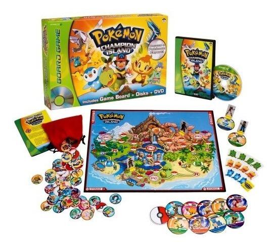 Pokemon153; Juego De Tablero De Dvd Champion Island