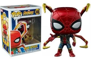 Funko Pop Spiderman - Iron Spider 300 - Avengers