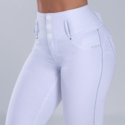 Calça Pit Bull Jeans Branco 33742 Pitbull Coleção Nova