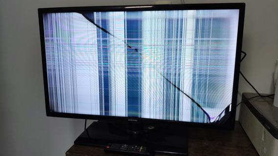Tv Lcd 32 Com Tela Quebrada
