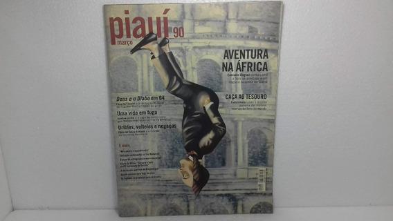Revista Piauí 90 Aventura Na África
