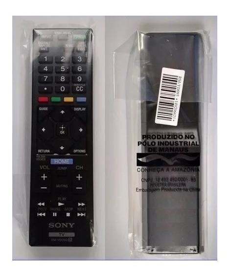 Controle Original Universal Serve Todas Tvs Sony Rm-yd093