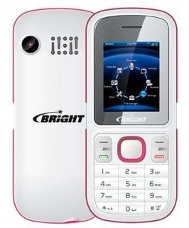 Celular 2 Chips Bluetooth Fm Camera Mp3 Bright Rosa