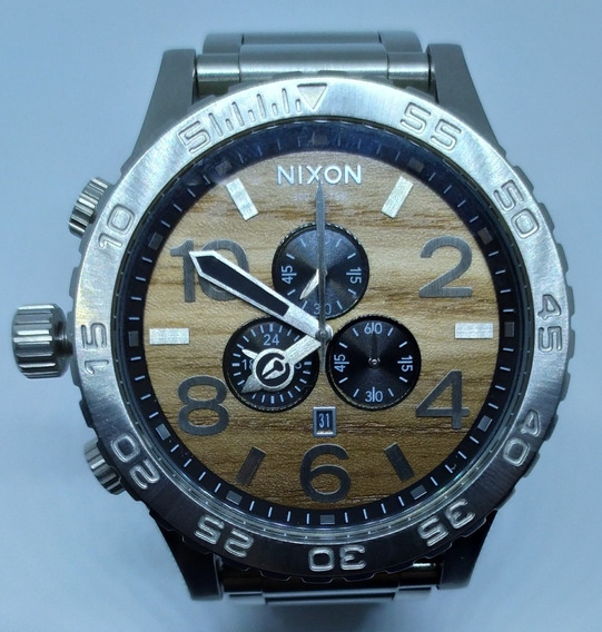 Nixon A083-2457 Madeira 51-30 Mergulho 300m Impecável Na Cx.