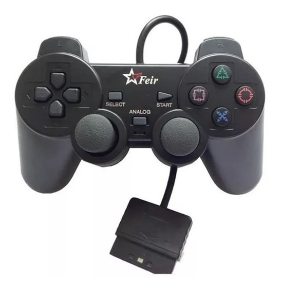 Controle De Ps1 Playstation 1 Ps2 Playstation 2 Novo