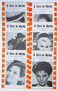 6 Revistas De Cinema A Torre De Marfim Anos 1964-65-66