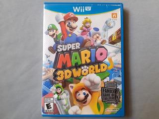 Super Mario 3d World Usado Para Wii U