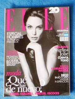 Angelina Jolie Revista Elle Argentina 2014 Exc Como Nueva