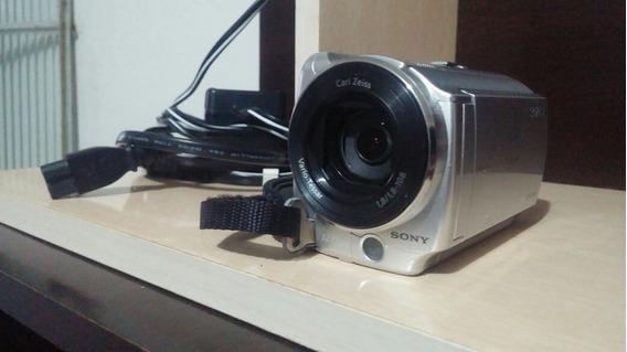 Camera Usada Sony Handycam Dcr Sr68 Com Erro 3100 No Hd