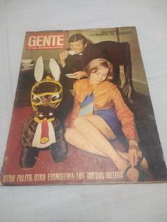 Revista Gente 110 Palito Ortega Y Evangelina Salazar 1967