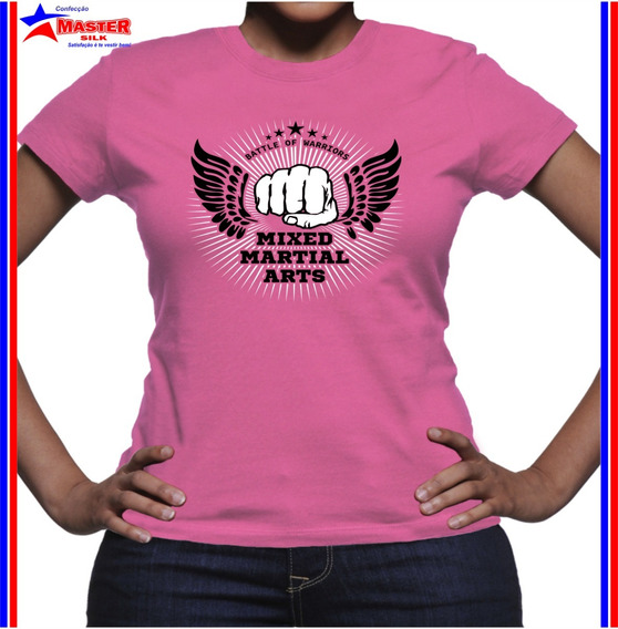 Camiseta Camisa Luta Mma Jiu Jitsu Muay Thai Arte Marcial