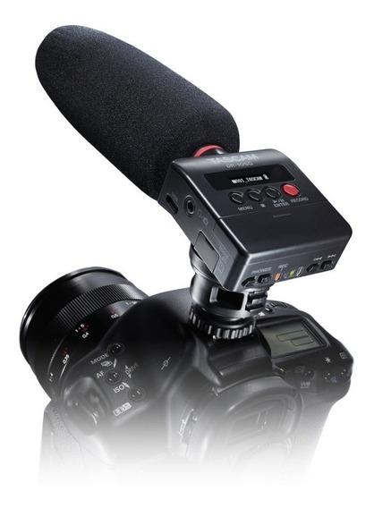 Gravador Digital Tascam Dr-10sg Microfone Shotgun Promoção