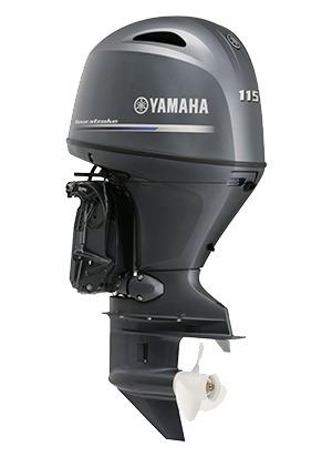 Imagem 1 de 2 de Motor De Popa Yamaha 115 Hp 0km Injeçao 4 Tempos 12 X Cartao