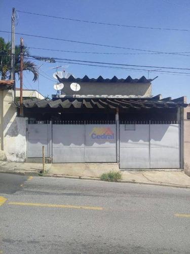 Casa Com 3 Dormitórios À Venda, 104 M² Por R$ 350.000,00 - Vila Natal - Mogi Das Cruzes/sp - Ca0474