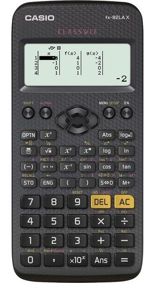 Calculadora Científica Fx-82lax Classwiz Casio - Preta