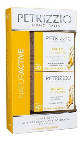Tratamiento Argan Dia + Noche 40+ Petrizzio Pack