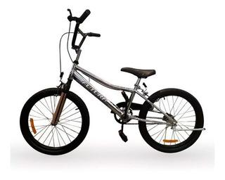Bicicleta Cromada Nene Bmx Cod 4143 Rod 20 Futura