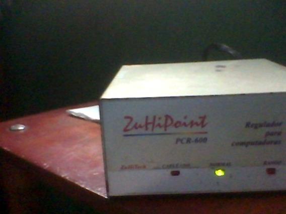 Regulador Para Computadoras Pcr 600 Zuhipoint Usado