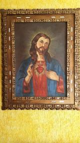 Quadro Cusquenho Sagrado Coração De Jesus 12 X S Juros