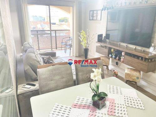 Imagem 1 de 16 de Apartamento À Venda, 75 M² Por R$ 310.000,00 - Jardim Santa Maria - Guarujá/sp - Ap3173