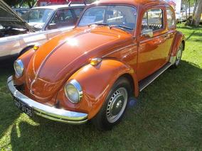 Volkswagen Fusca 1973 - Fuscão 1500 Original Placa Preta