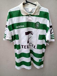Camiseta Sporting Lisboa - Época De Figo E Jardel