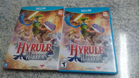 Hyrule Warriors - Wii U - Com Luva Box - Completo-impecável