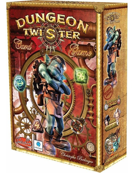 Dungeon Twister Card Game - Jogo De Tabuleiro - Português