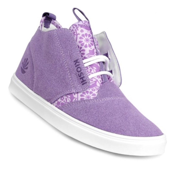 Zapatillas Kioshi Chukin Women Lavander Bird