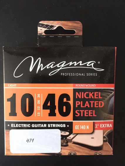 Encordado De Guitarra Electrica Magma 010
