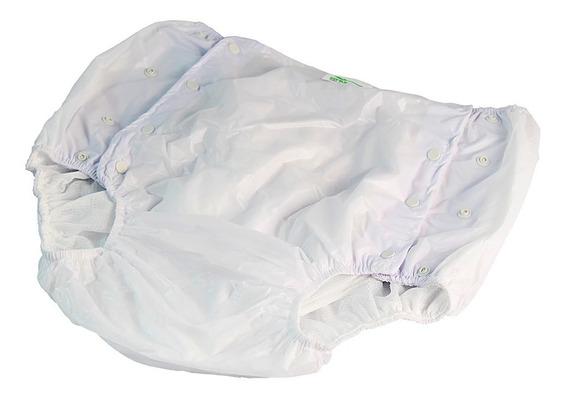 Calça Plastica Geriátrica Adulto Com Botão